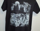 Wolf Shirt, wolf pack shirt, wolves, wolf, moon.