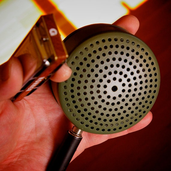 "Tin Can Microphone - ""Army Green"""