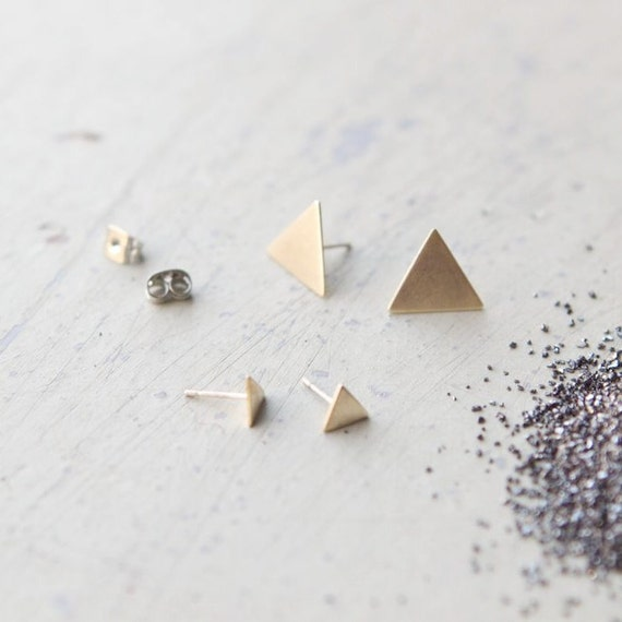the Isosceles Triangle studs