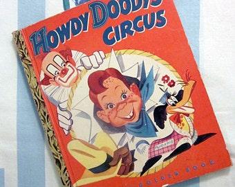 Howdy Doody's Circus, 1950 Little Golden Book
