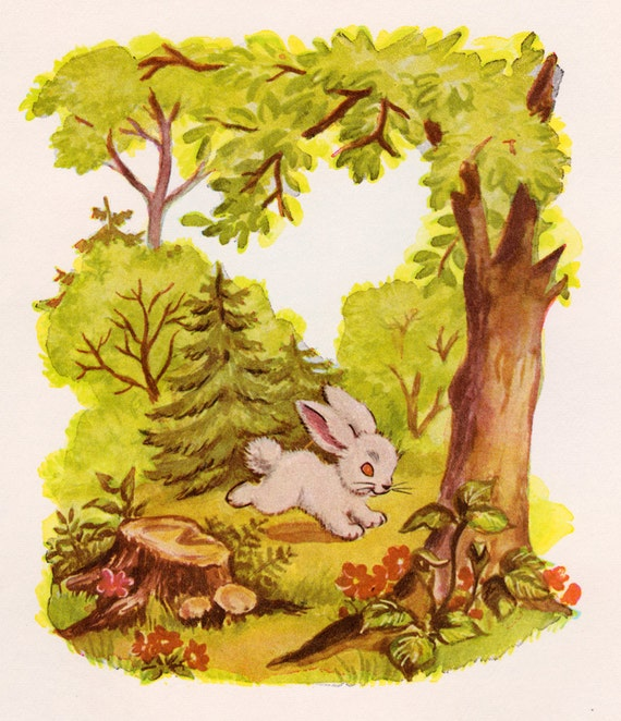 The Little Rabbit Who Wanted Red Wings by Carolyn Sherwin Bailey, illustrated by Dorothy Grider