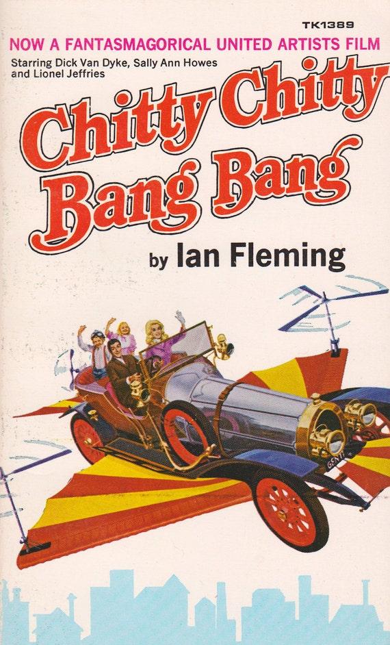 Chitty Chitty Bang Bang by Ian Fleming, illustrated by John Burningham
