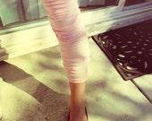 Thigh High Baby Pink Leg Warmers