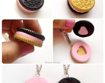 Super Cute Oreo Friendship Necklace