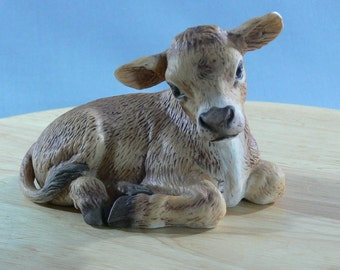SALE - Clementine the Baby Calf - 1980 by Roger J. Brown - MG-182