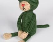 Crocheted Cat Amigurumi