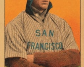 San Francisco Seals - Williams - PCL Baseball - 13.5 x 8 inches - Vintage 1910
