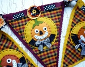 Halloween Pumpkin Banner Decoration