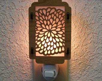Chrysanthemum Night Light