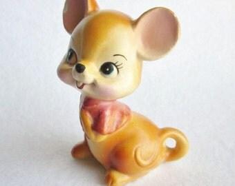 Vintage Mouse Figurine