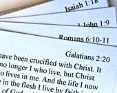 Gospel Verse Scripture Memory Cards