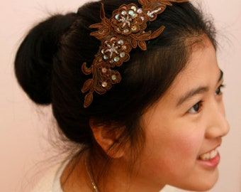 Wedding/Bridesmaid headband/head piece - Nature's wreath