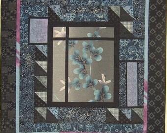 Say Yes To Yukata, Indigos, and Maschine Sashiko Quilt Pattern Willow Brook Quilts DIY Quilting Sewing
