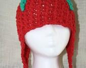 Strawberry Shortcake EASY Crochet PDF Pattern - Infant, Child, Tween, Adult Sizes. Sale - Buy 2 patterns, Get 1 FREE.