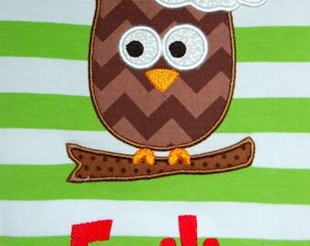 Santa Owl Shirt