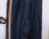 SALE Vintage 1980s KWAY Navy Blue Splash Pants