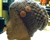 100% Mohair Wool Slouchy Beanie