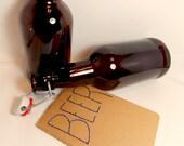 Beer Journal for Men Upcycled Moleskine Homebrew Ticking Log Notebook