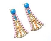 C A R A Rhinestone Earrings