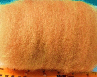 Bronze, gold, brown Carded Sheep batt, wool ROVING,needle felting, spinning