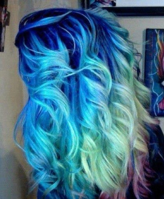 Items Similar To Colored Hair Chalk Temporary Color