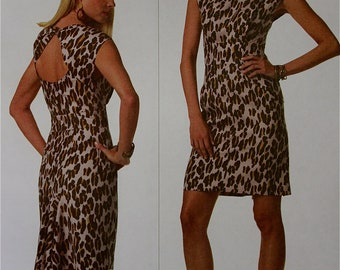 Cocktail Dress by Rachel CoMey Vogue American Designer Pattern 1161 Uncut Size  6-8-10-12 or 14-16-18-20