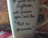 Harry Potter Literature Mug
