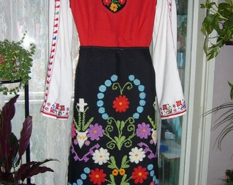 Vintage National Bulgarian folk costume - 25 years old