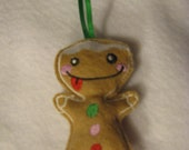 Gingerbread Man Scented Ornament