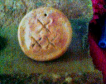 Red Brick Dust Charm- Marie Laveau,,Hoodoo,Voodoo,Protection, Protection Charm,Wicca
