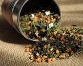 Green Tea - Genmaicha - Japanese Popcorn Tea Premium Level Sample Pack 15 grams/ .53 Oz