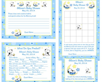 Baby Snoopy Moon and Stars Game Package #1