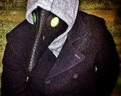 Black Plague Doctor Mask Made to Order