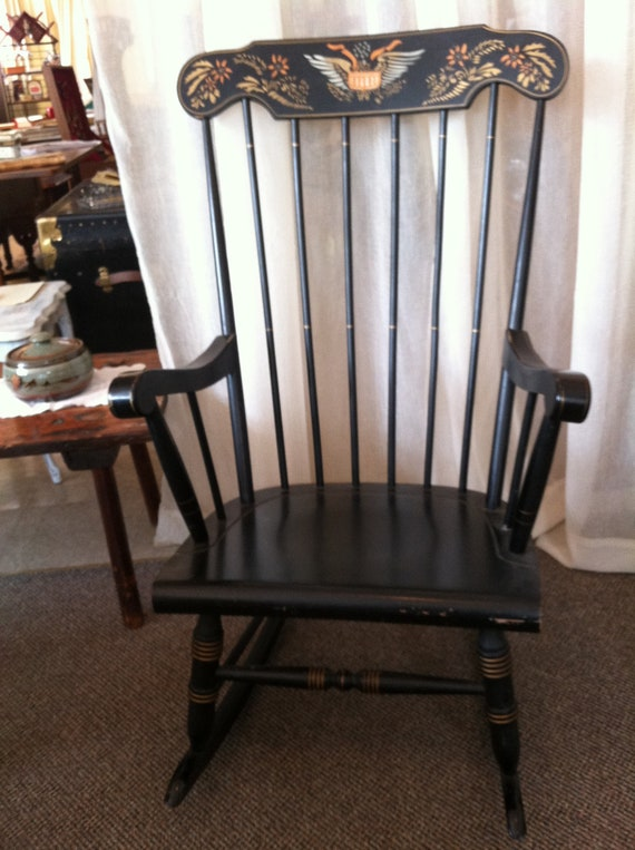 early american style rocking chair sale pending