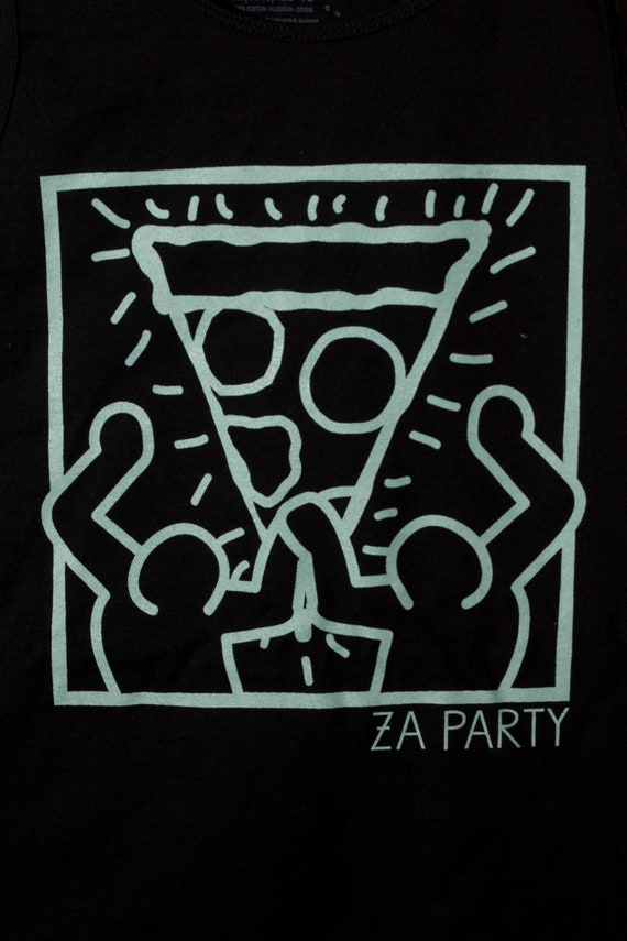 unisex grunge pizza party
