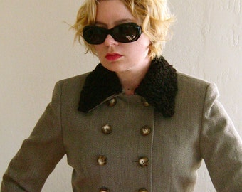 SALE 33% OFF: 1980's Dior Cropped Double-Breasted Jacket