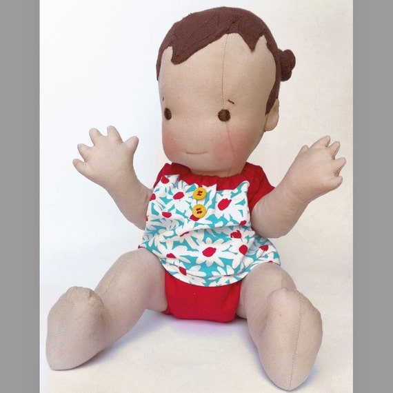 "SALE Sophie- 18"" Vintage Inspired Cloth Baby Doll"