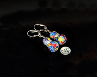 Autism Awareness Jewelry Earrings