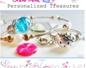 Transform Your Broken Jewelry into UNIQUE Wire Rings- Snail Mail Custom Simple Treasure Special for You