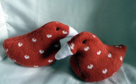 SALE - Squishy Sock Ducks