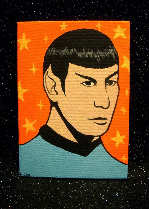 Mister Spock - Original Acrylic Painting
