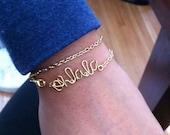 Personalized Wire Bracelets