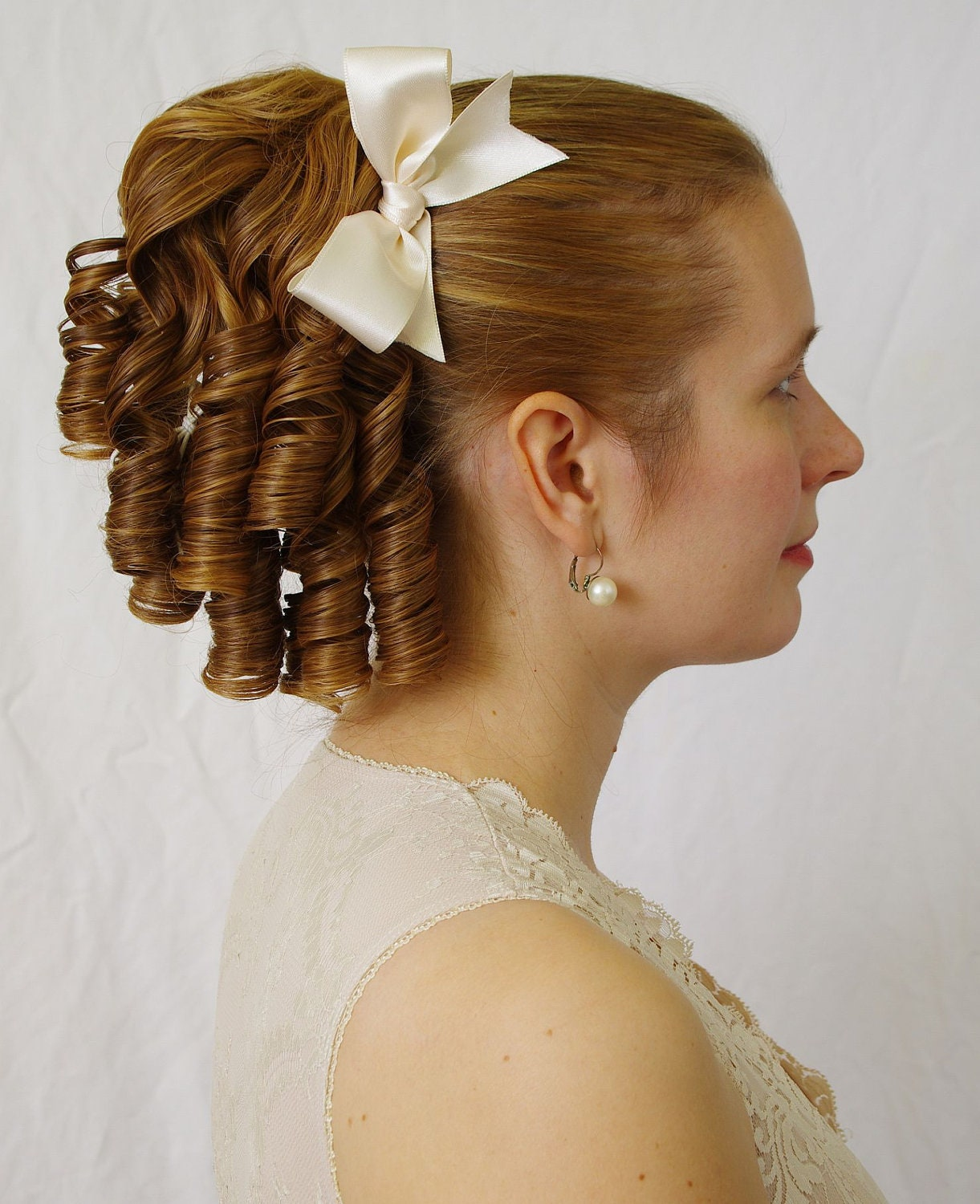 Wedding Hairstyle Ringlets: Single Lolita Romantic Lolita Ringlet Hairpiece Also