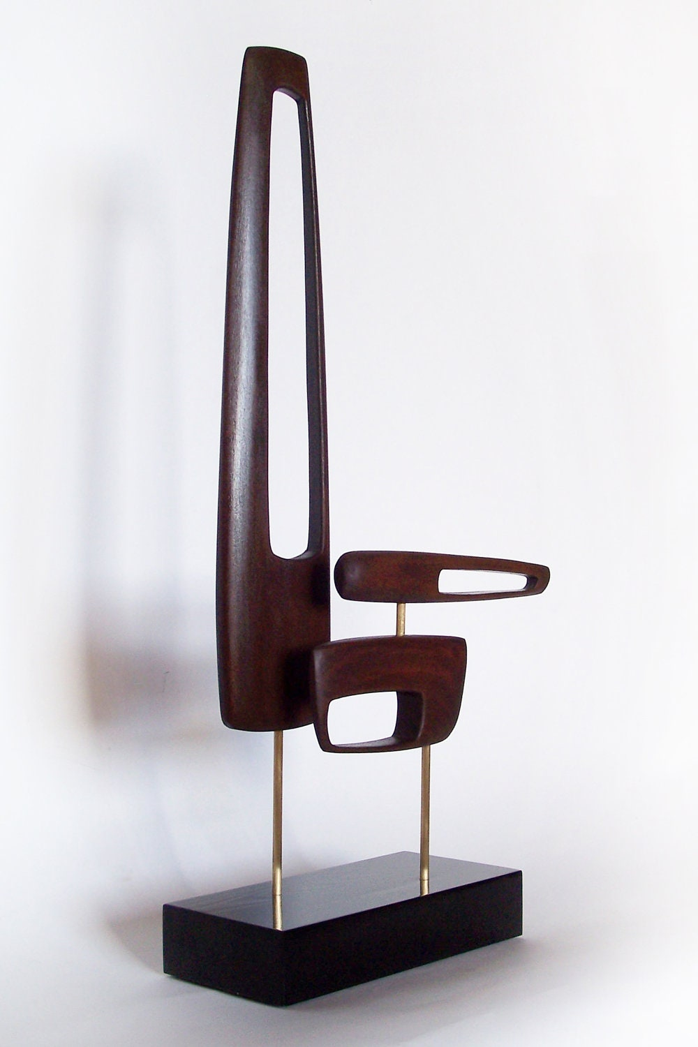 mid century modern art sculpture eames era tiki 60 39 s retro. Black Bedroom Furniture Sets. Home Design Ideas
