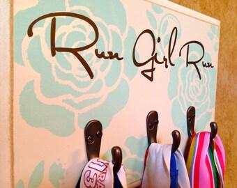 Running Medal Holder - Run Girl Run