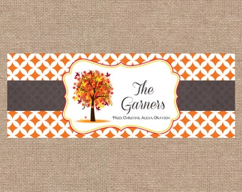 Fall Facebook Cover- Personalized TIMELINE cover for personal or business use with avatar