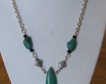 turquoise pendant 0289NK