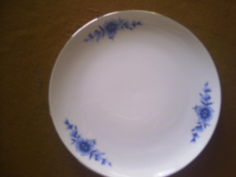 eschenbach china danish blue coupe salad dishes. Black Bedroom Furniture Sets. Home Design Ideas