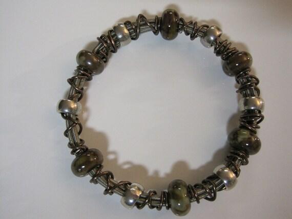 bass guitar string jewelry bracelet bangles. Black Bedroom Furniture Sets. Home Design Ideas