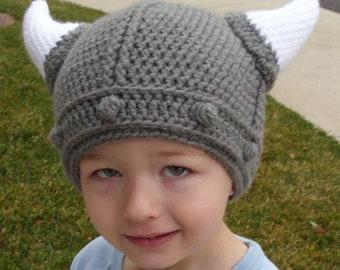 Lael Viking Hat (Child sizes)